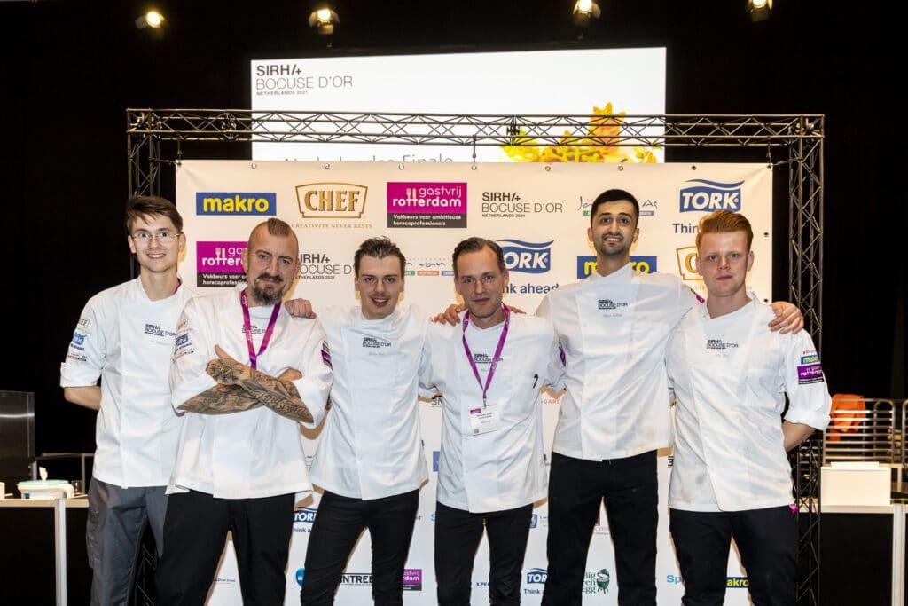 Deelnemers Bocuse d'Or 2021
